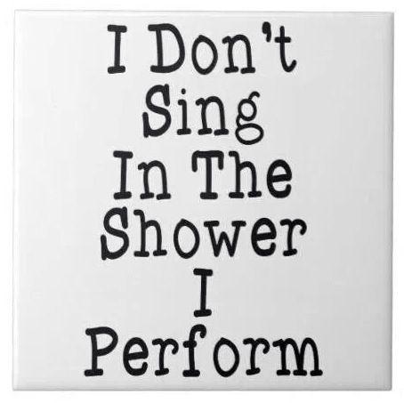 Sing Shower