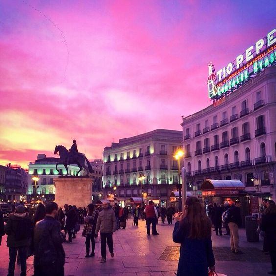 tio pepe madrid sunset two cents in my pocket